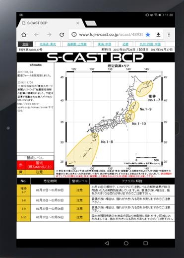 BCP関連商品|富士S-CAST株式会...